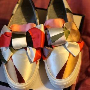 Nine West Slip On Bow Sneaker